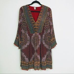 Fits 14 🌈 Anthro—Akemi & Kin Boho Paisley Dress